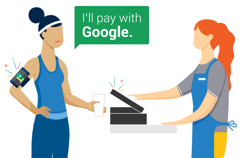 Para pagar con su móvil solo necesitará su voz gracias a Google