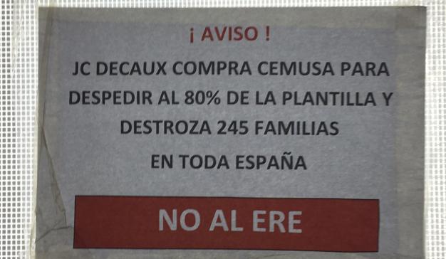 JCDecaux-huelga