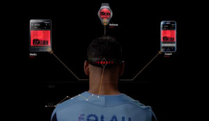 Samsung crea un wearable que estudia las conmociones cerebrales en los deportistas