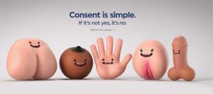 Esta campaña rompe con las metáforas y deja claro qué es el consentimiento sexual