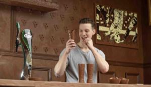 En este pub de Carlsberg podrá emborracharse de cerveza y de chocolate al mismo tiempo