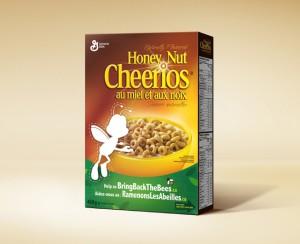 Cheerios hace desaparecer a su famosa abeja por una buena causa