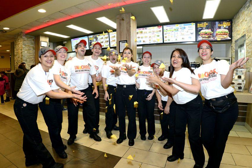 Cerca de 10.000 nachos invaden los restaurantes Burger King®