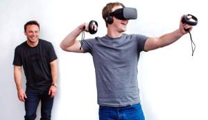 Mark Zuckerberg sigue obcecado en convencernos de las virtudes de las Oculus Rift