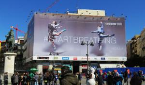 El Ayuntamiento de Madrid endurecerá la normativa de las lonas publicitarias en las obras