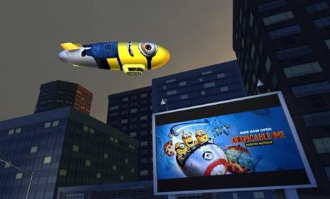 realidad virtual minions videojuegos