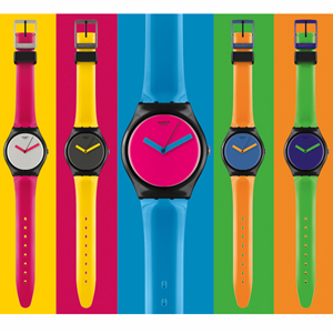 relojes swatch colores