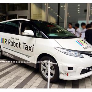 robot taxi taxis