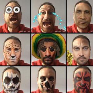 selfies selfis masquerade