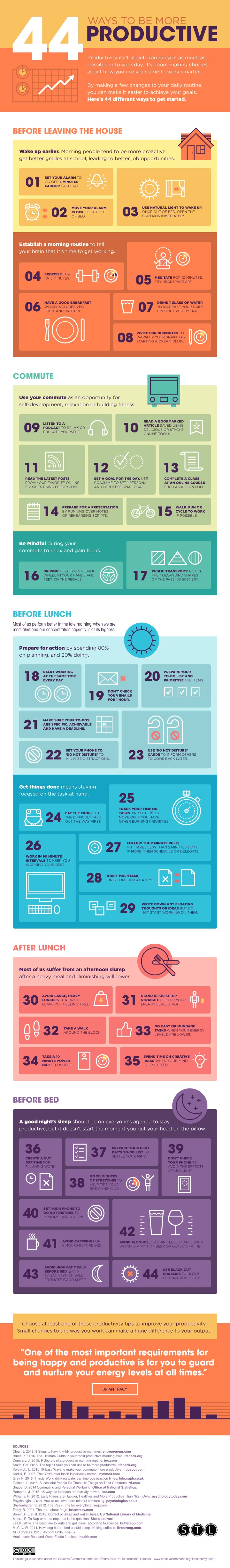 44-ways-to-be-more-productive
