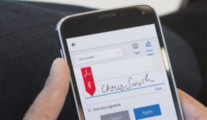Presentación de Adobe Signpara experiencias de usuario prescindiendo del papel