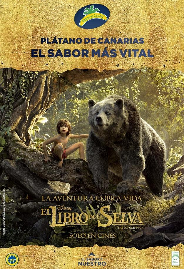 Campaña Plátano de Canarias y El Libro de la Selva