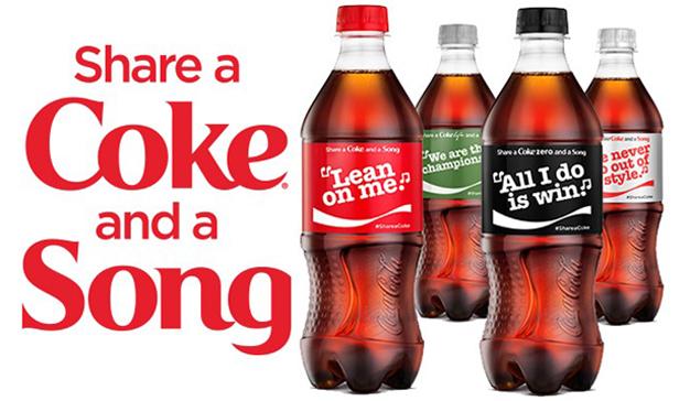 Coca-Cola comparte canción