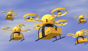 El futuro de la logística: drones y robots