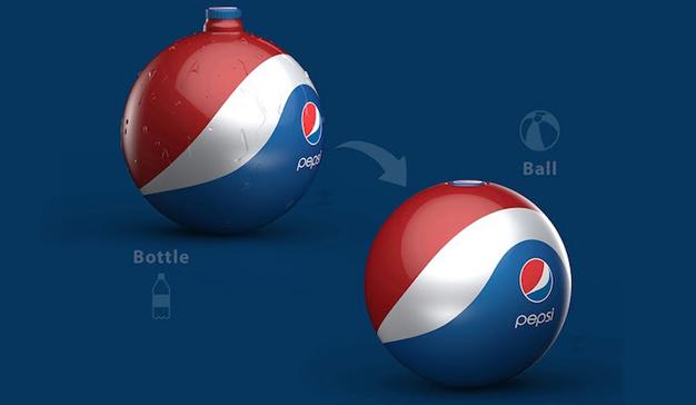 Pepsi botellas balón 1