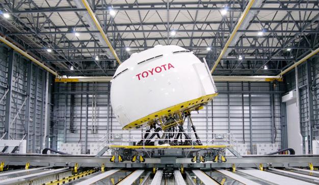 Toyota coche semiautónomo