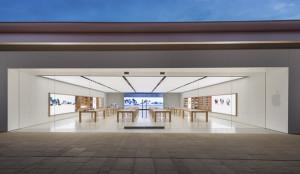 Parece que el logo ya no es tan necesario en las nuevas tiendas de Apple