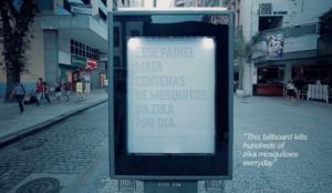 Este anuncio respira y suda como un ser humano para matar a los mosquitos del Zika