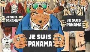 Charlie Hebdo dedica su portada a los papeles de Panamá y el