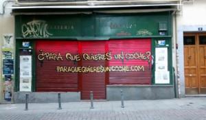 Madrid se pregunta para qué queremos el coche con esta peculiar campaña
