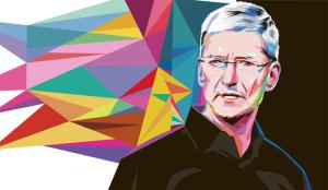 No tiene su carisma, pero Tim Cook hace algunas cosas mejor que Steve Jobs
