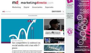 En MarketingDirecto.com estrenamos portal y les contamos todos los detalles