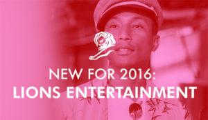 Lions Entertainment, el nuevo miembro de la familia Cannes Lions, ya tiene jurado