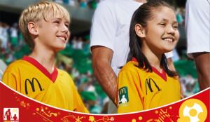 McDonald's y Fernando Torres invitan a 11 niños a la UEFA EURO 2016