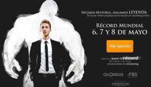 ¿50 horas seguidas de marketing online? Prepárese para hacer historia