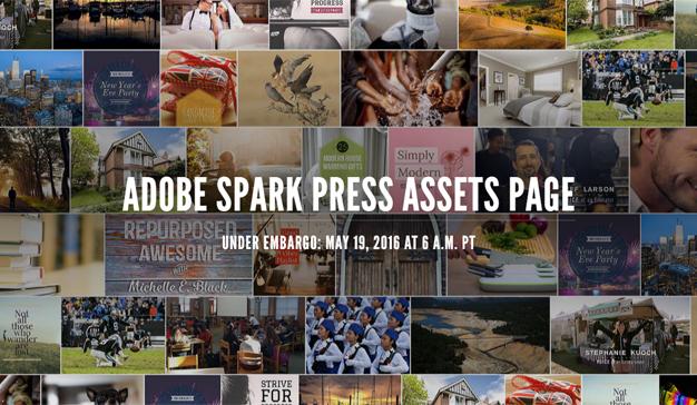 Adobe Spark imagen