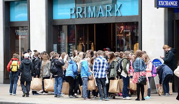 Primark tiendas