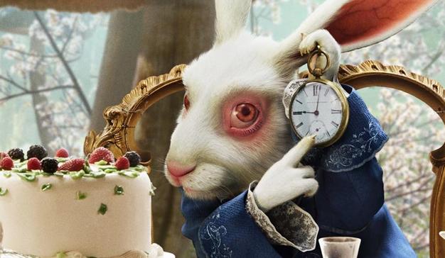 conejo-alicia-reloj