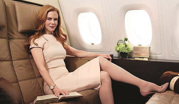 Lujo, realidad virtual y Nicole Kidman se unen en esta experiencia única de Etihad Airways
