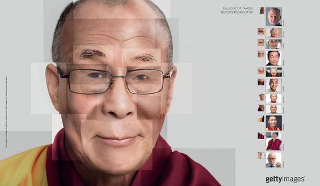 retratos dalai lama