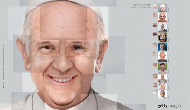 retratos papa