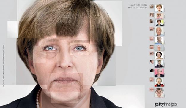 retratos merkel