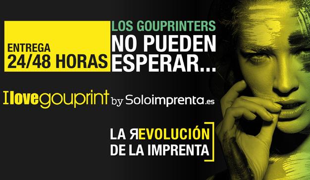 GouPrint, el servicio de imprenta online para clientes con la prisa en los talones