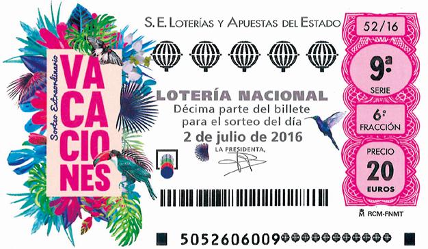 campaña loteria vacaciones