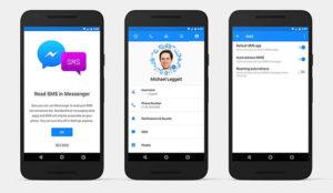 La arrolladora fuerza de Facebook Messenger se apodera (también) de los mensajes SMS