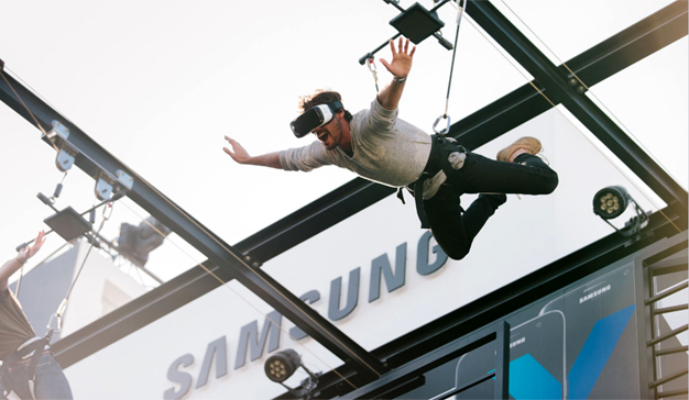 samsung marketing experiencial