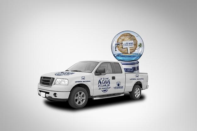 White Pick up Truck; Shutterstock ID 25370269