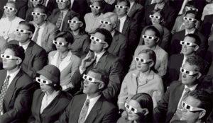 Las gafas para ver cine 3D podrían acabar muy pronto en el baúl de los recuerdos