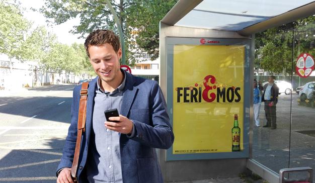 Geotargeting mobile sincronizado a mobiliario urbano aumenta la efectividad de las campañas