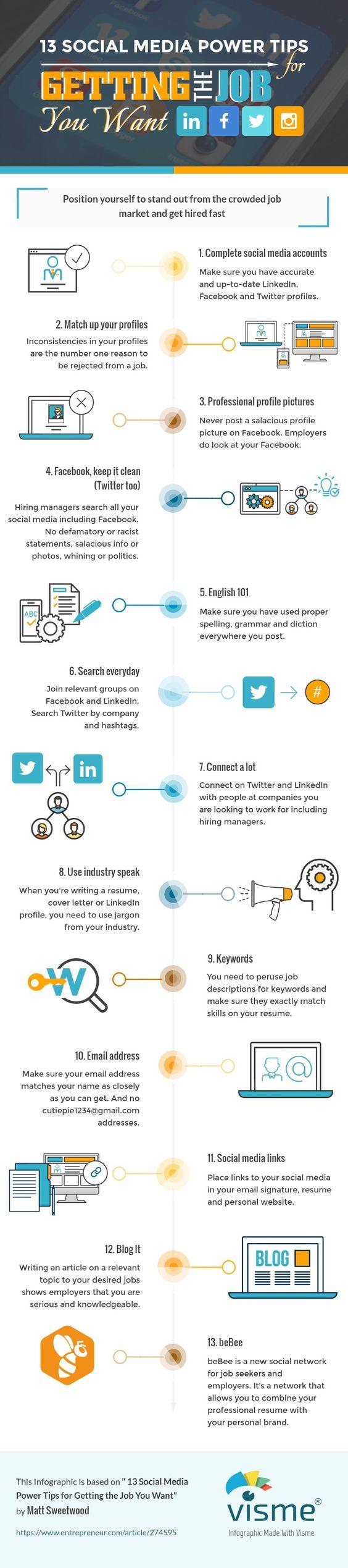 job-social-media-power-tips-infographic