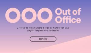 Out of Office de Spotify pone música a sus vacaciones (y podrá compartirla vía email)
