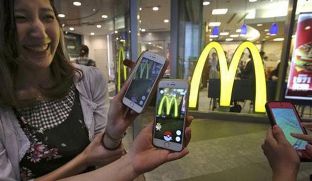 Pokémon Go invade Japón y 2.900 locales de McDonald's se convierten en sus aliados