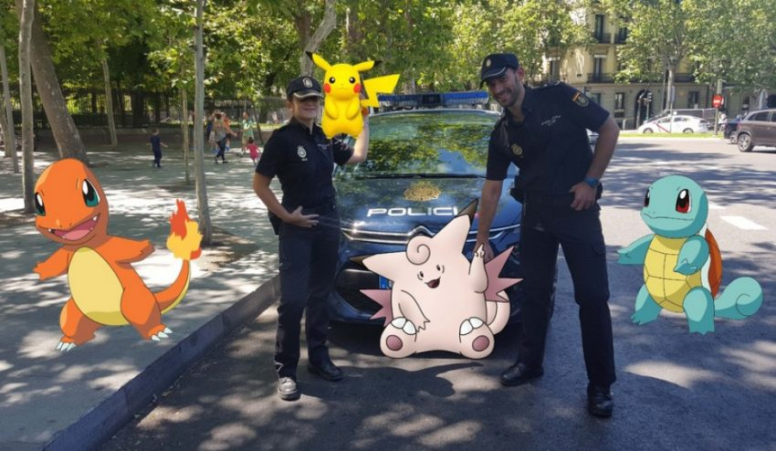 Así quiere evitar Policía Nacional que nos juguemos la vida disfrutando de Pokémon Go