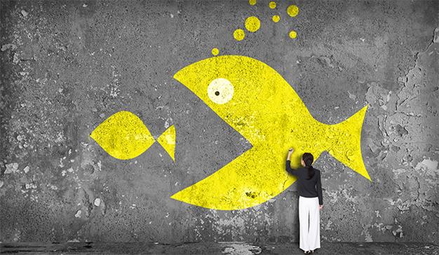 En Twitter el pez chico se come al grande (en cuanto a tasa de interacciones)