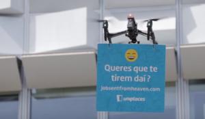 Uniplaces utiliza drones para atraer a los mejores profesionales