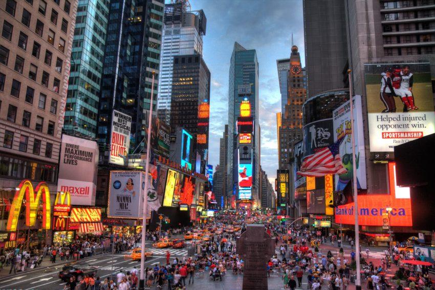 Times Square, la capital mundial de la publicidad